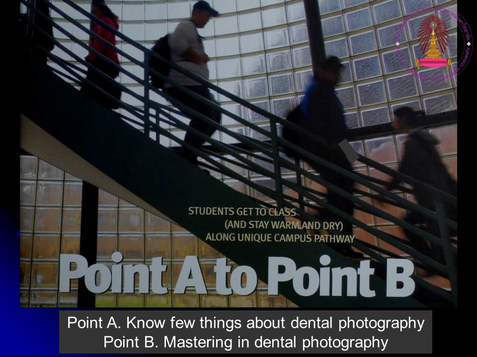 Point A. Know few things about dental photography