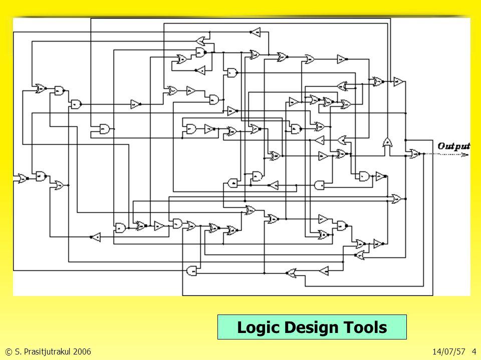การจำลองวงจรตรรก Logic Design Tools