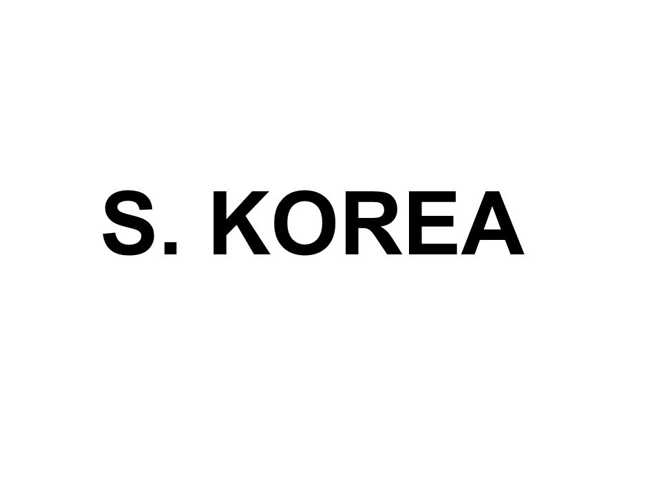 S. KOREA