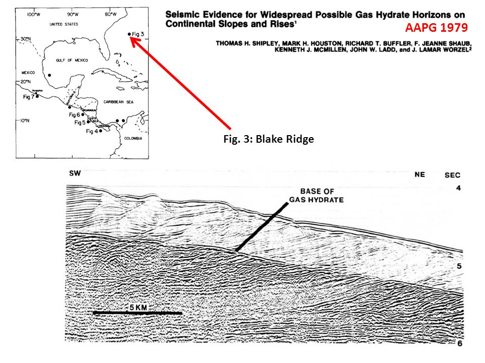 AAPG 1979 Fig. 3: Blake Ridge