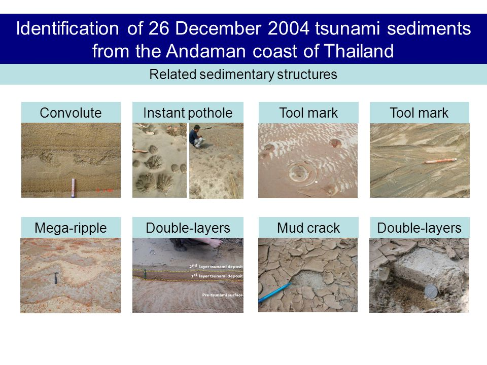 Related sedimentary structures