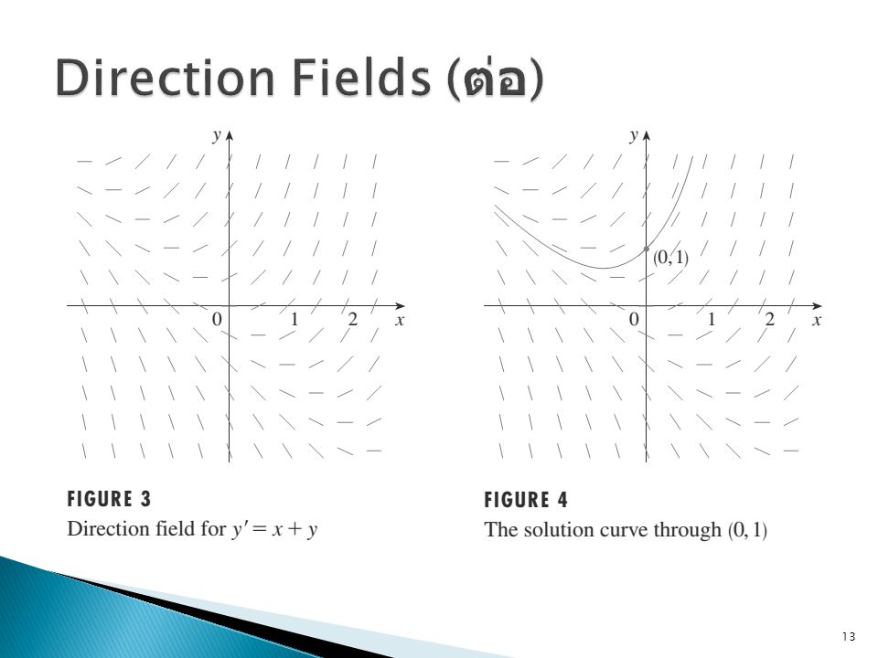 Direction Fields (ต่อ)