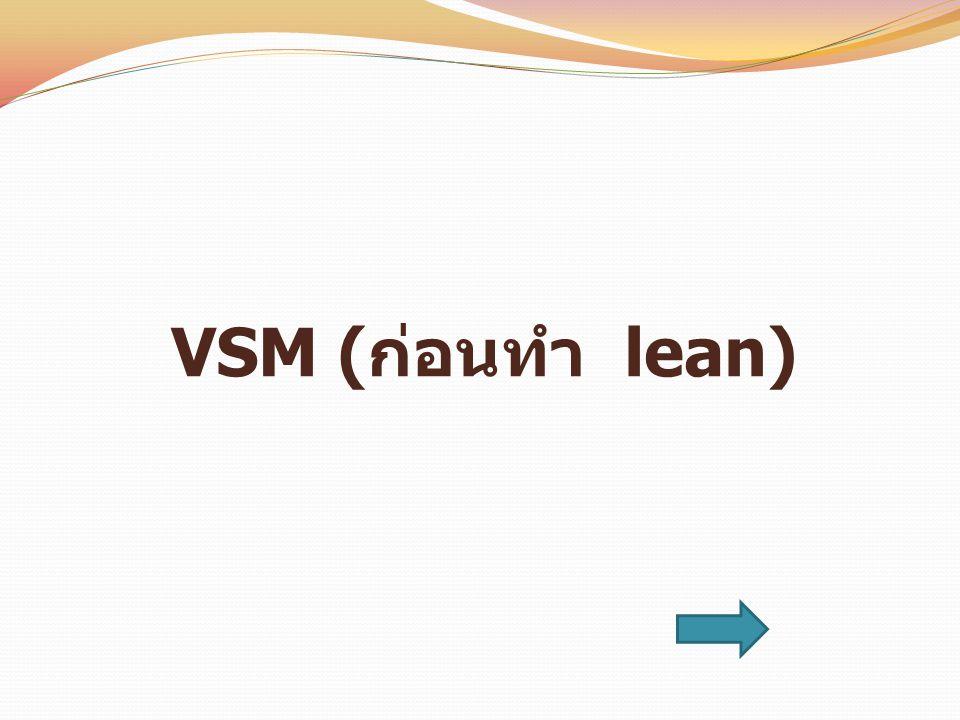 VSM (ก่อนทำ lean)