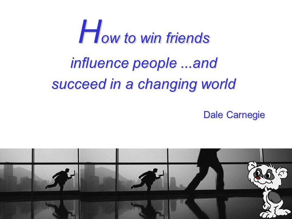 succeed in a changing world
