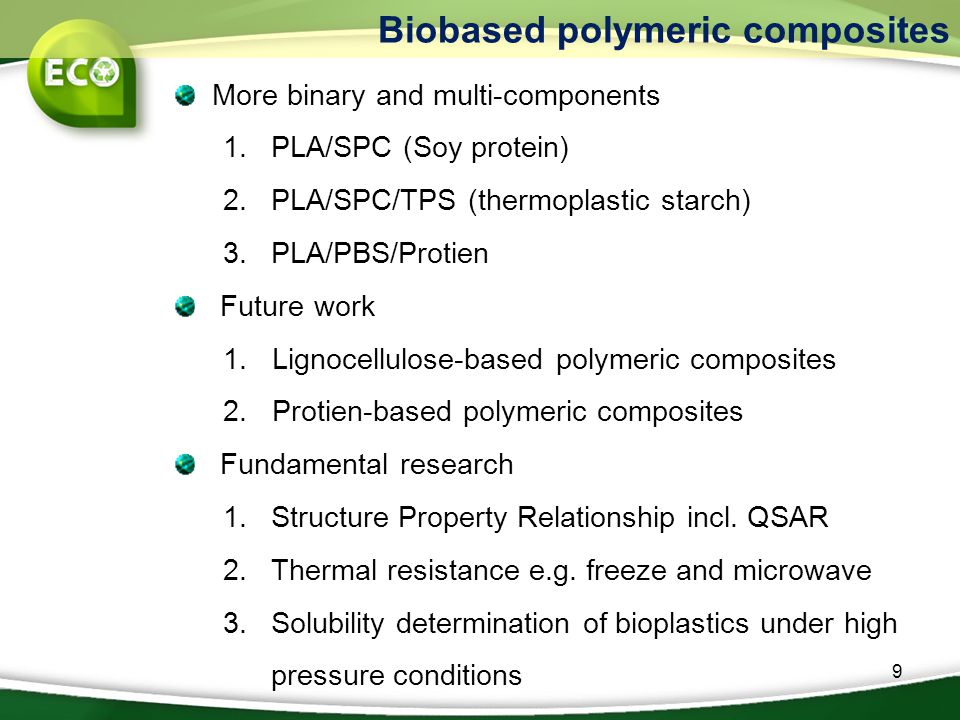 Biobased polymeric composites