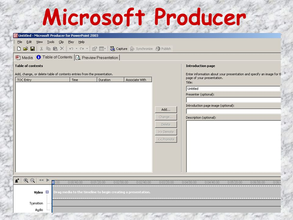 Microsoft Producer