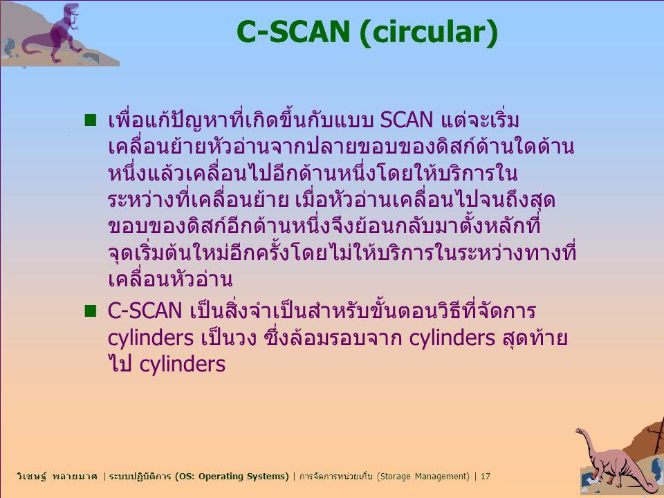C-SCAN (circular)
