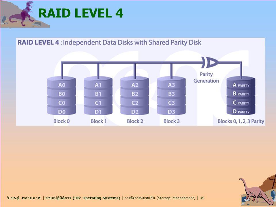 RAID LEVEL 4