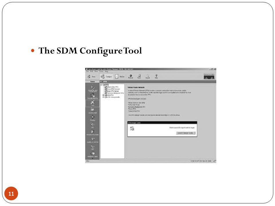 The SDM Configure Tool