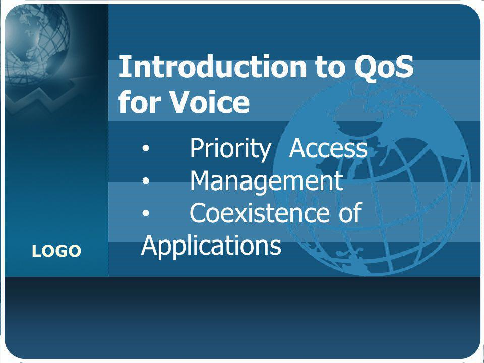 Introduction to QoS for Voice