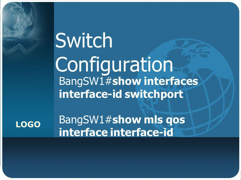 Switch Configuration BangSW1#show interfaces interface-id switchport