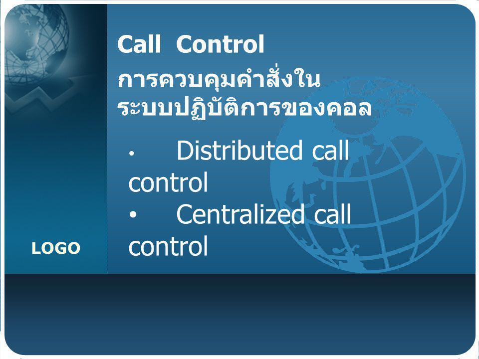 Call Control การควบคุมคำสั่งในระบบปฏิบัติการของคอล