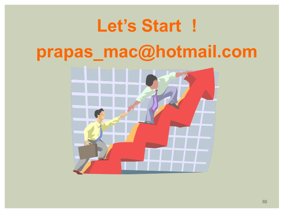 Let's Start ! prapas_mac@hotmail.com