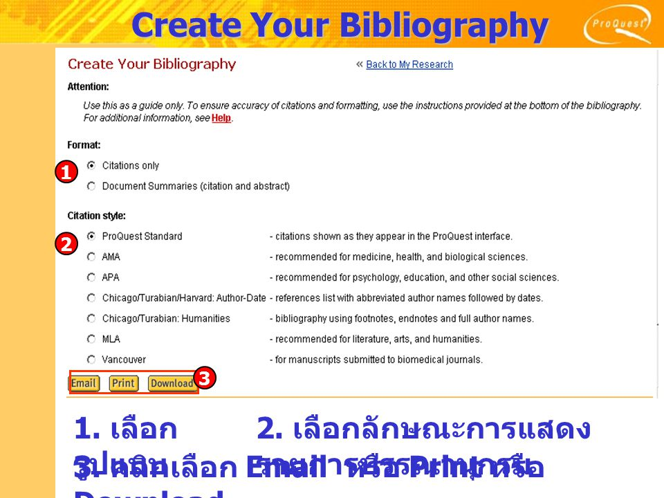 Create Your Bibliography