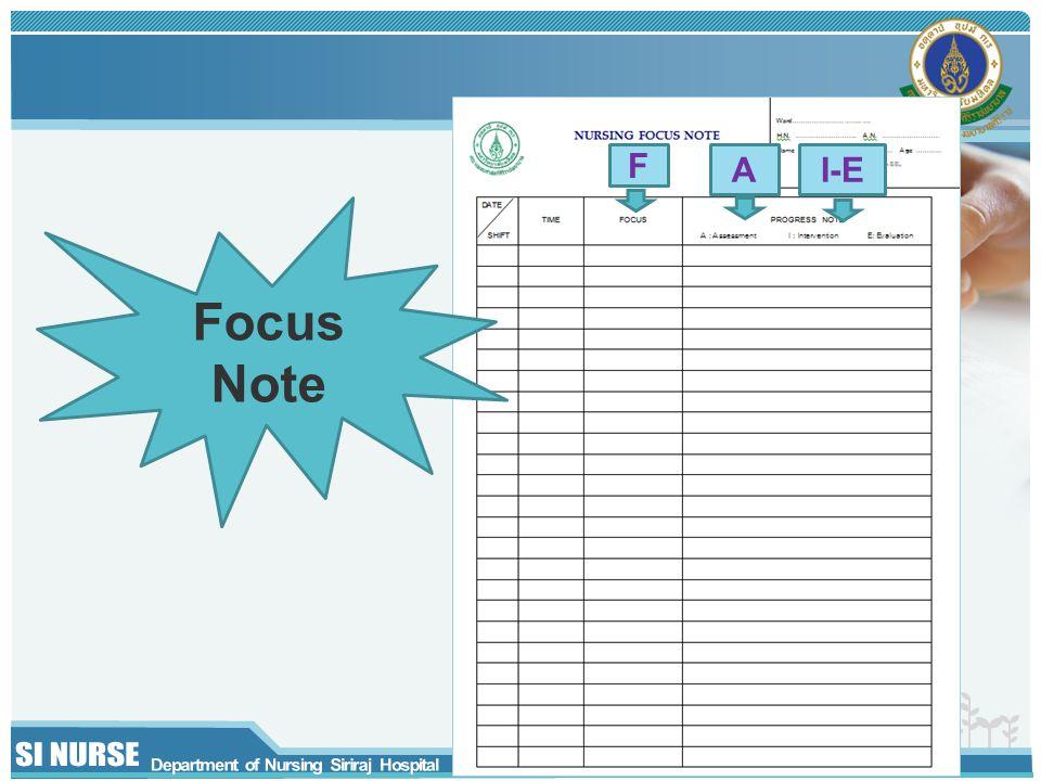 F A I-E Focus Note