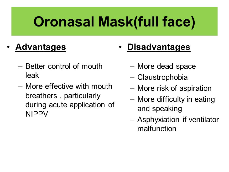 Oronasal Mask(full face)