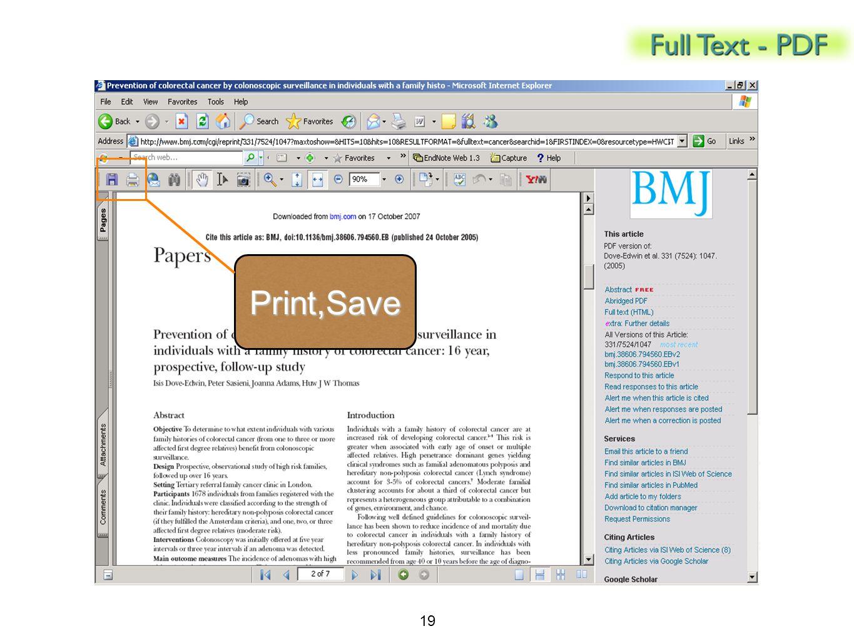 Print,Save