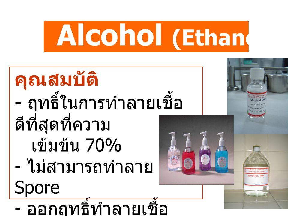 Alcohol (Ethanol Isopropanol)