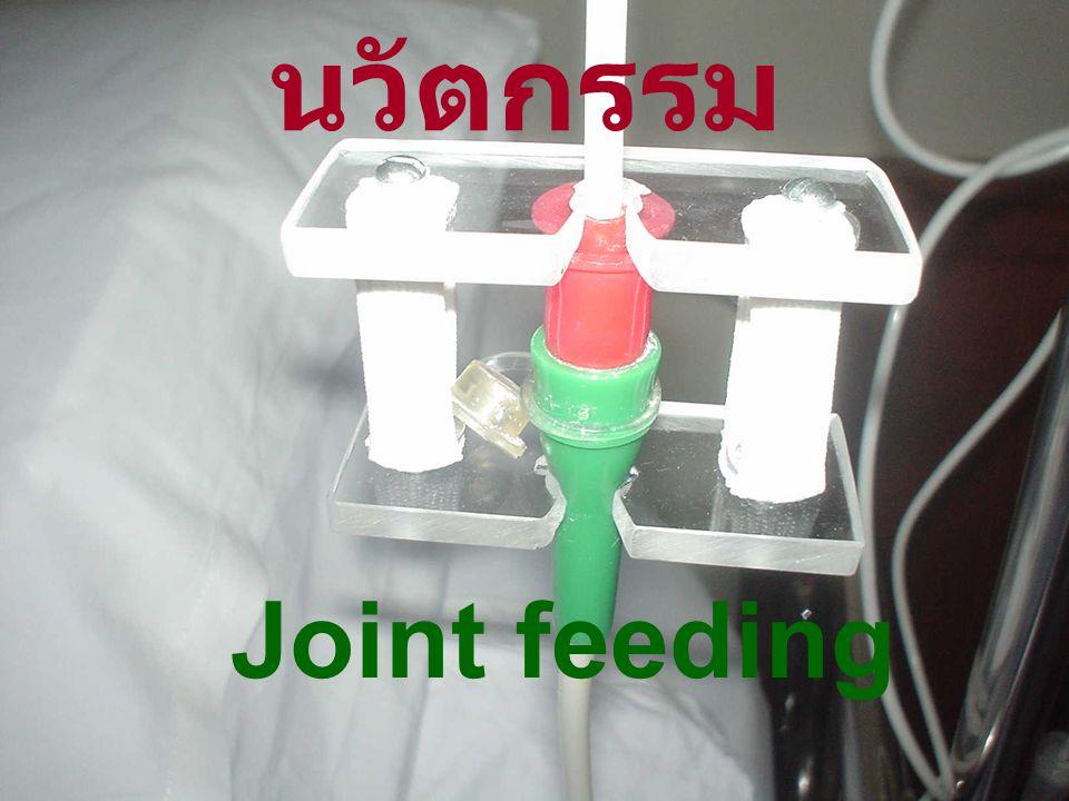 นวัตกรรม Joint feeding