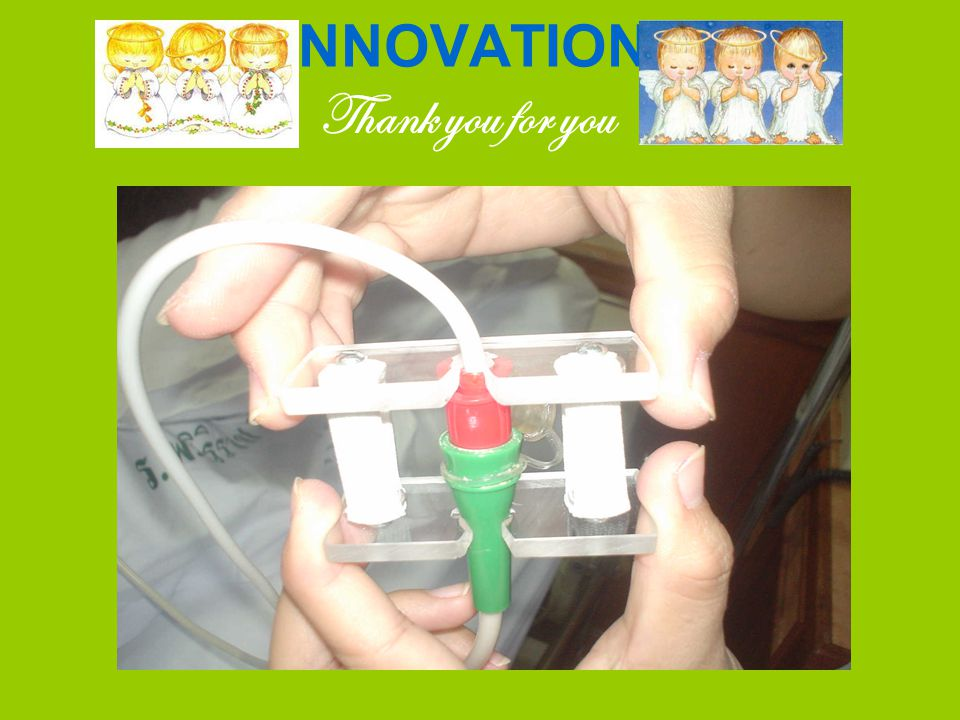INNOVATION Thank you for you