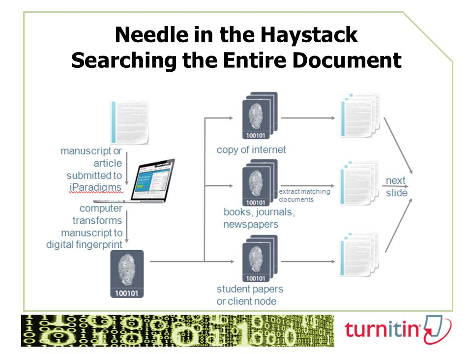 Needle in the Haystack Searching the Entire Document