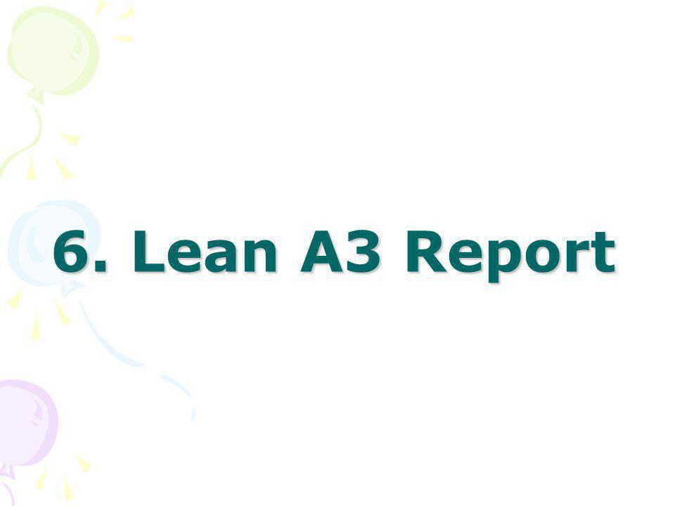 6. Lean A3 Report