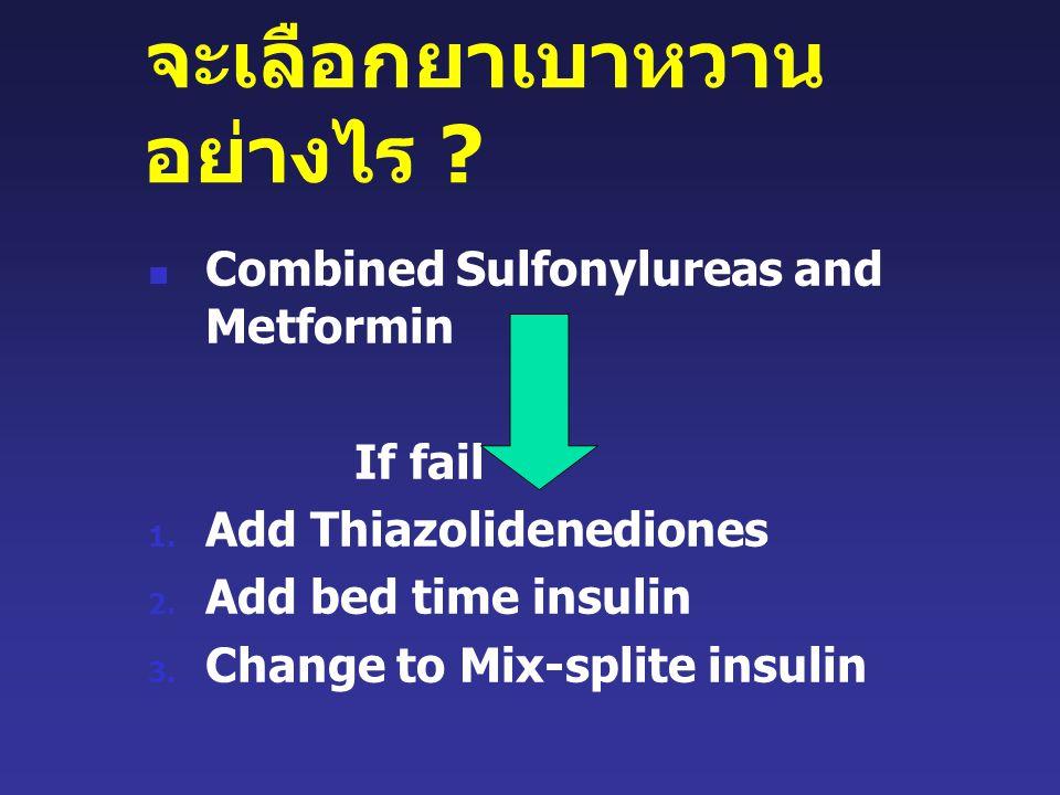 จะเลือกยาเบาหวานอย่างไร