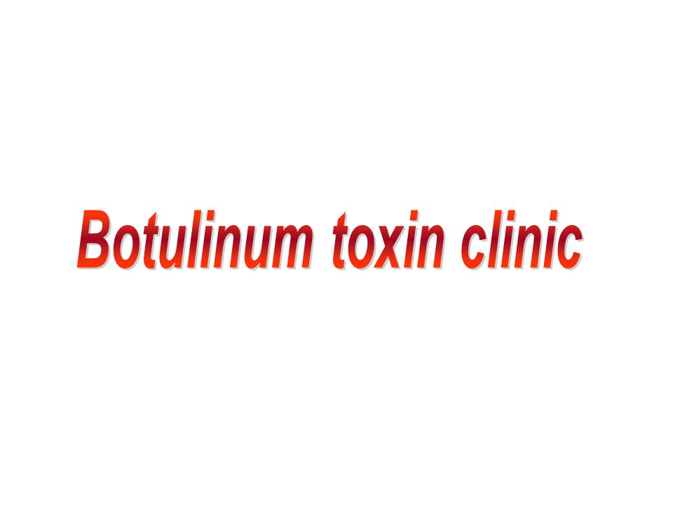 Botulinum toxin clinic
