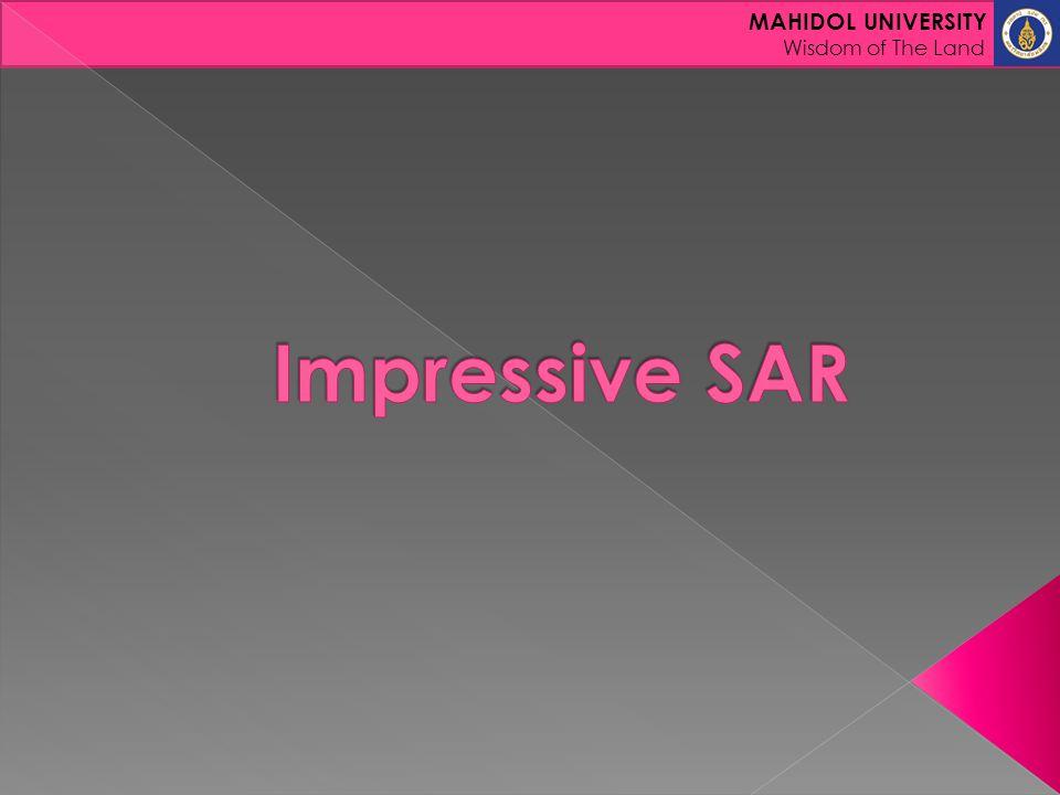 Impressive SAR