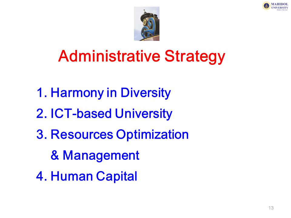 Administrative Strategy