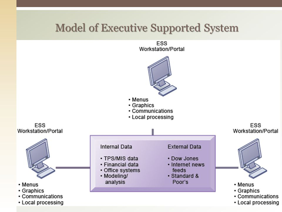 Model of Executive Supported System