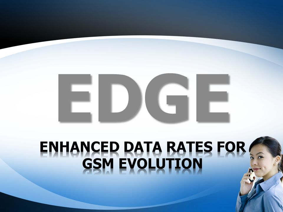 Enhanced Data rates for GSM Evolution