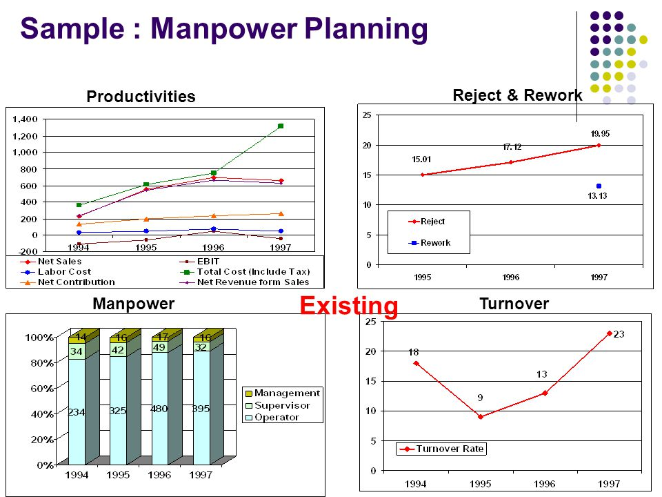 Sample : Manpower Planning