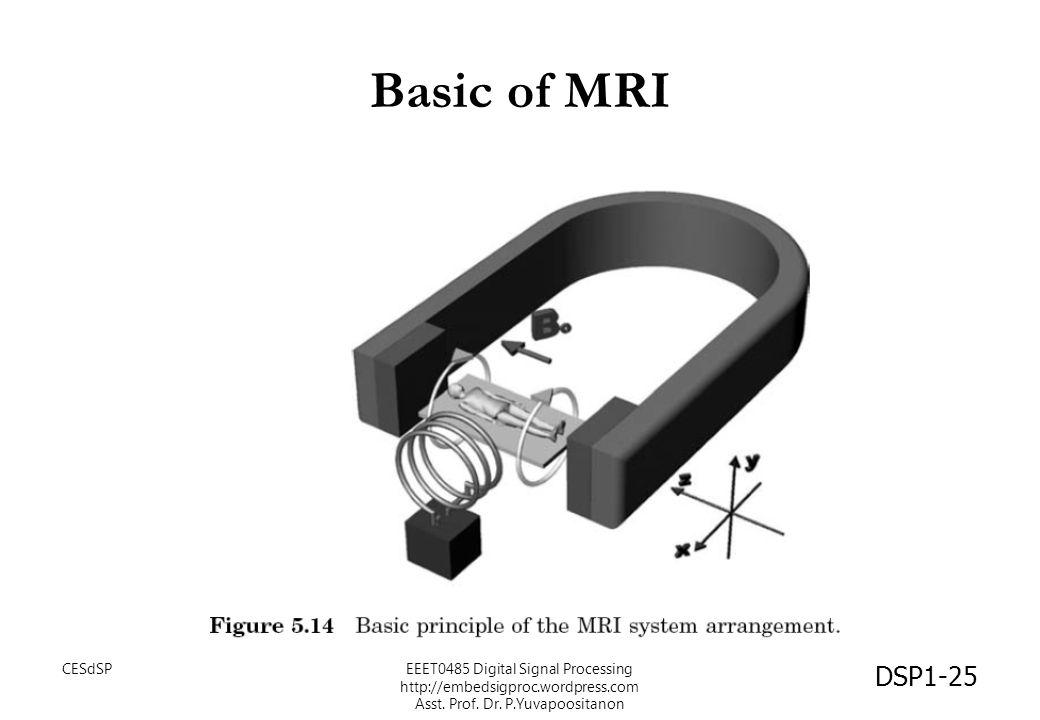 Basic of MRI CESdSP.