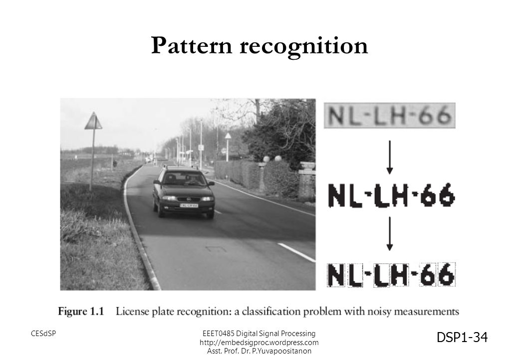 Pattern recognition CESdSP