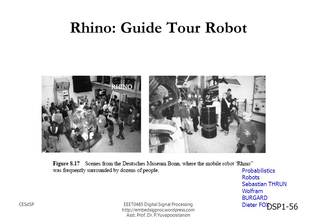Rhino: Guide Tour Robot