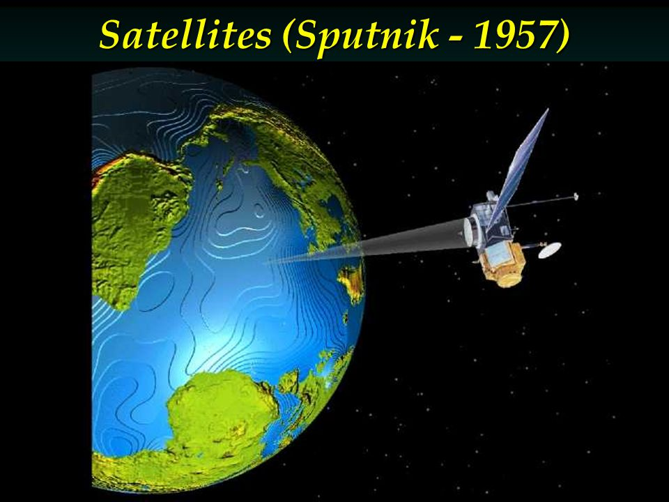 Satellites (Sputnik - 1957)