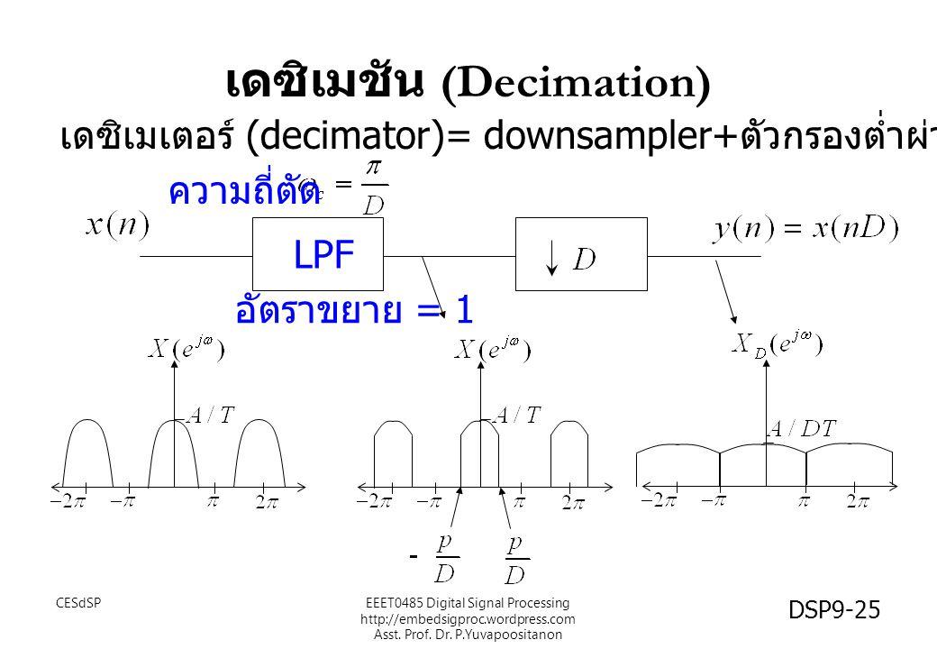 เดซิเมชัน (Decimation)