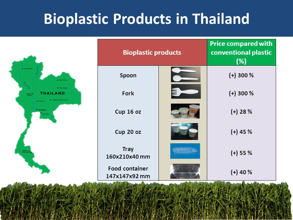 Bioplastic Products in Thailand