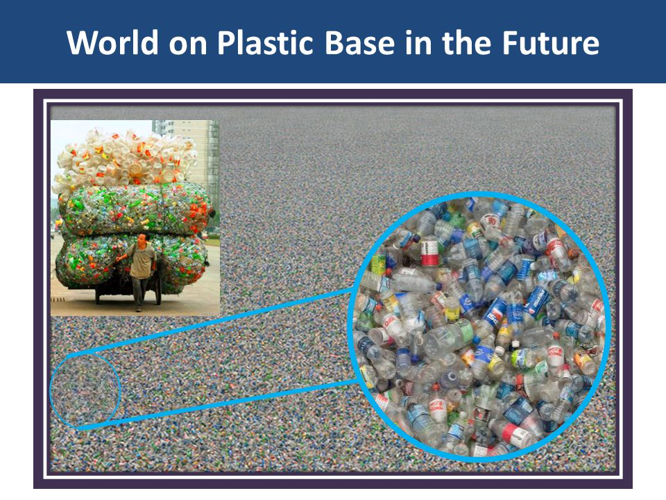World on Plastic Base in the Future