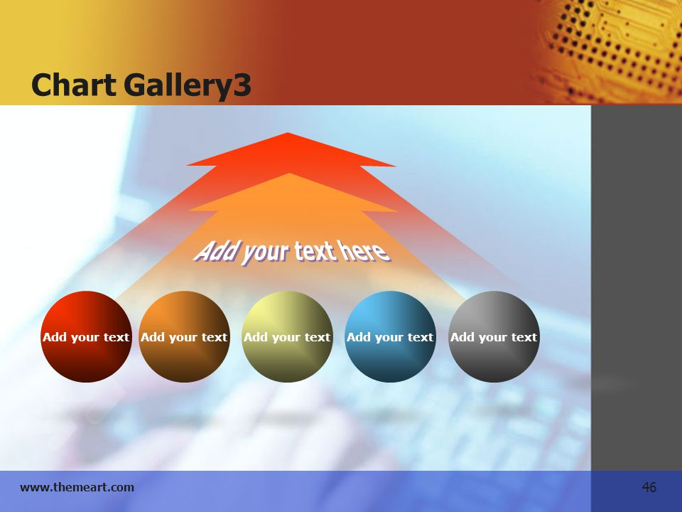 Chart Gallery3 Add your text Add your text here
