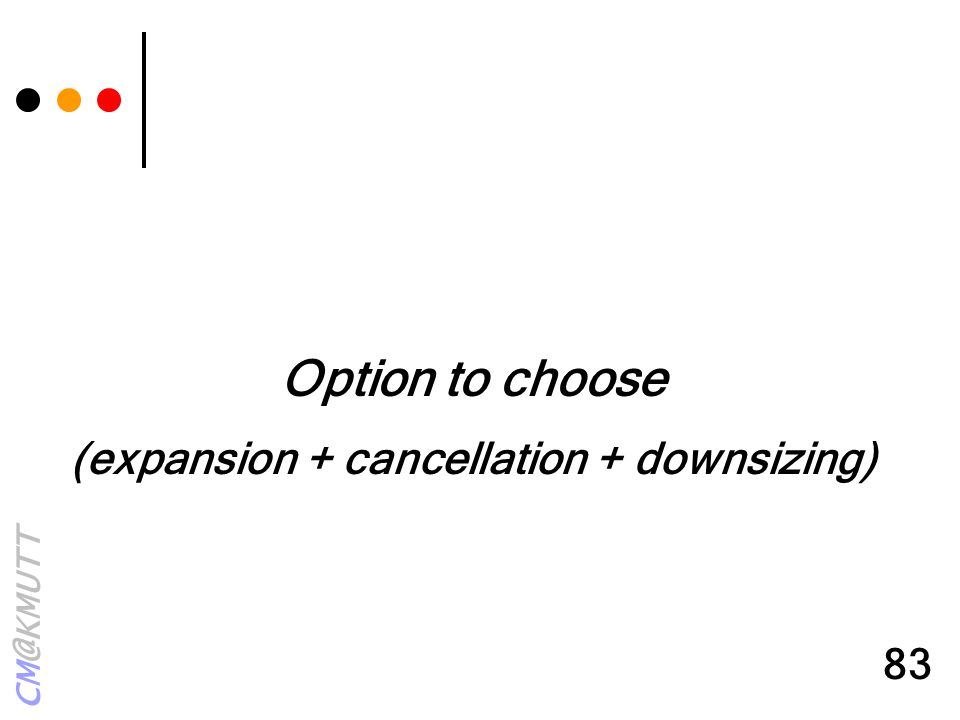 (expansion + cancellation + downsizing)