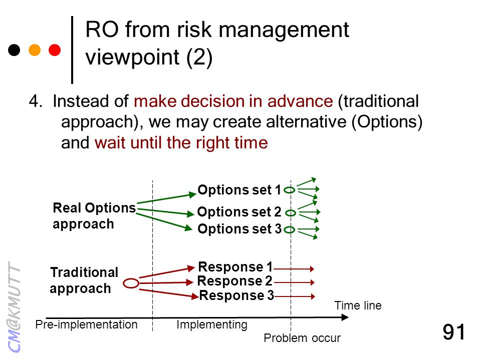 RO from risk management viewpoint (2)