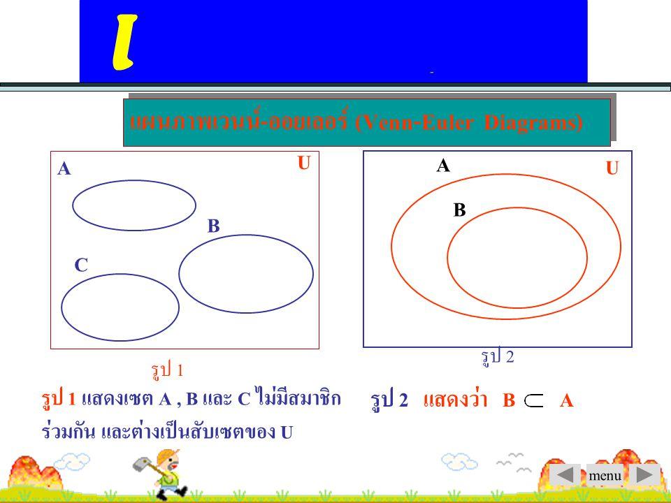 แผนภาพเวนน์-ออยเลอร์ (Venn-Euler Diagrams)