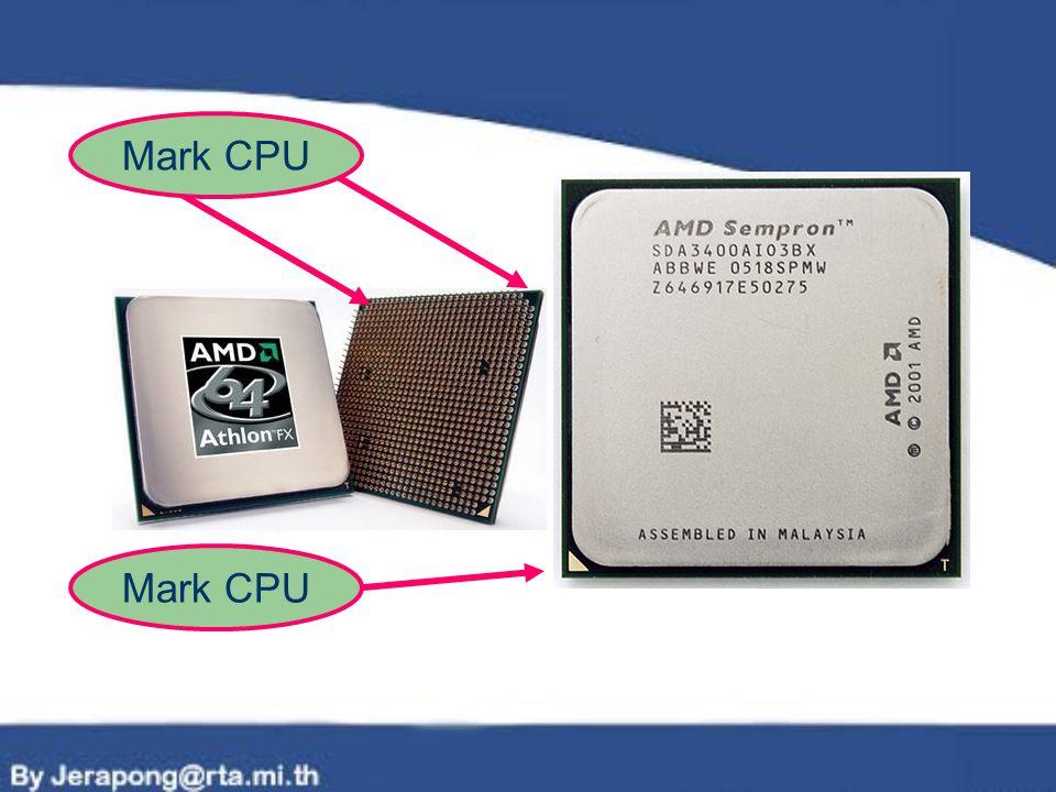 Mark CPU Mark CPU