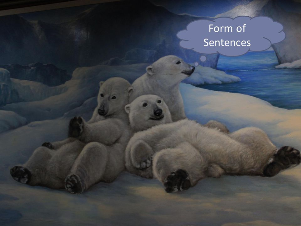 Form of Sentences