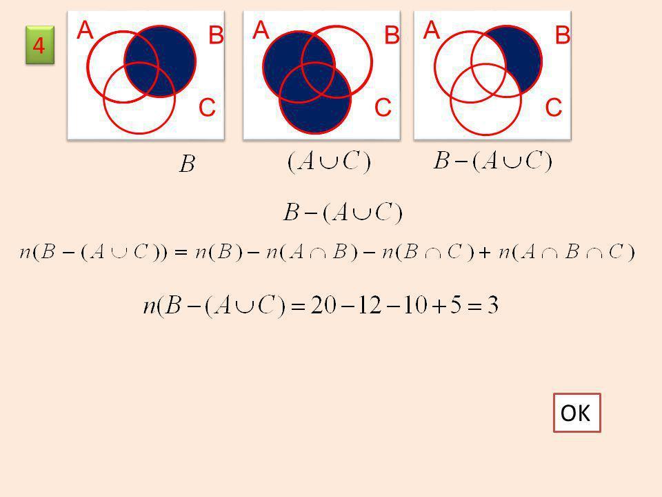 A A A B B B 4 C C C 5 OK