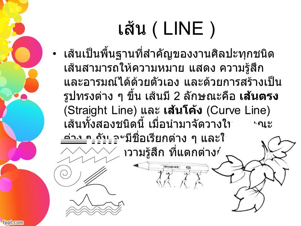 เส้น ( LINE )