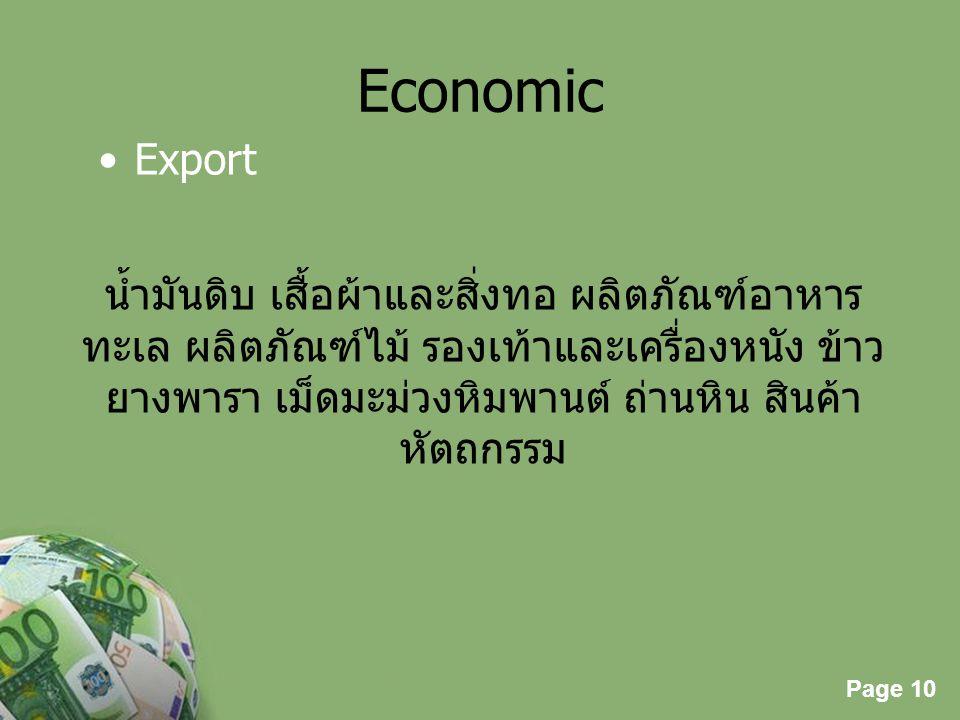 Economic Export.