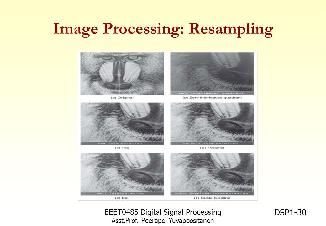Image Processing: Resampling